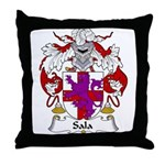 Sala Family Crest Throw Pillow