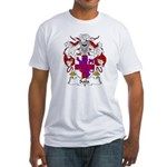 Sala Family Crest Fitted T-Shirt