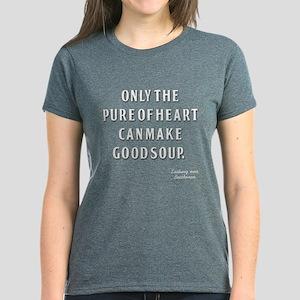 Beethoven's Soup Women's Dark T-Shirt