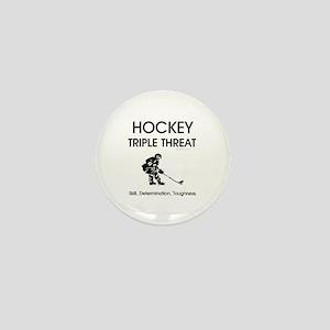 TOP Ice Hockey Slogan Mini Button