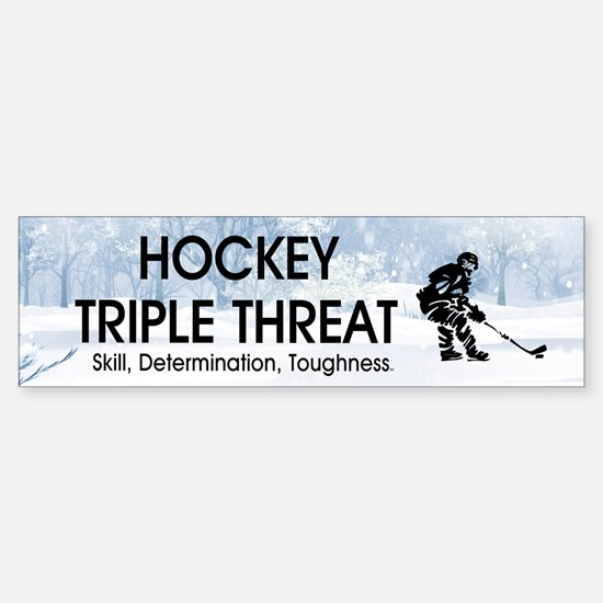 TOP Ice Hockey Slogan Sticker (Bumper)