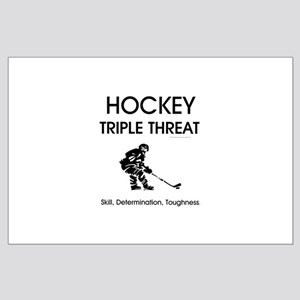 TOP Ice Hockey Slogan Large Poster