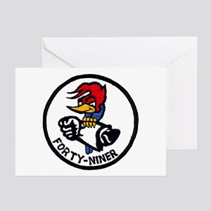 VP-49 Forty-Niners Greeting Cards (Pk of 10)