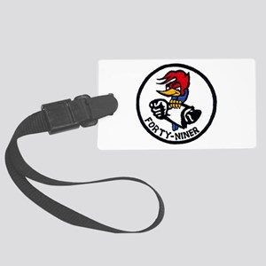 VP-49 Forty-Niners Large Luggage Tag