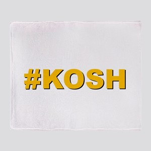 #KOSH Throw Blanket