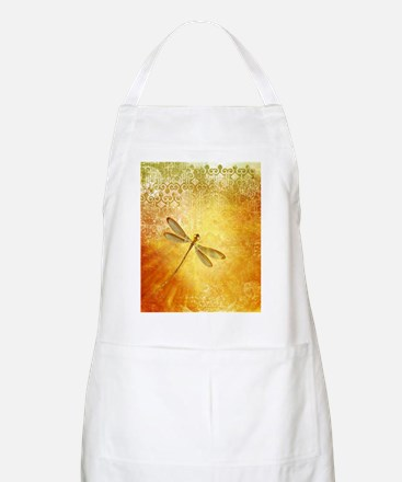 Golden dragonfly Apron