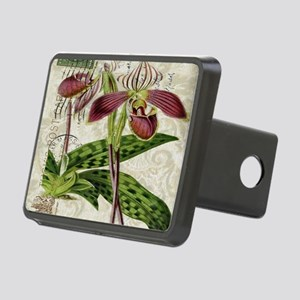 vintage french botanical o Rectangular Hitch Cover
