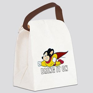 Bring It On Canvas Lunch Bag