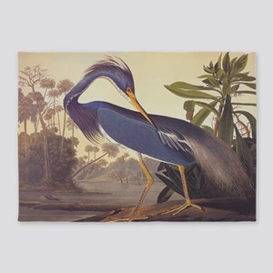 Louisiana Heron 5'x7'Area Rug