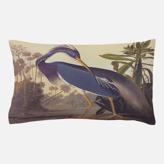 Louisiana Heron Pillow Case