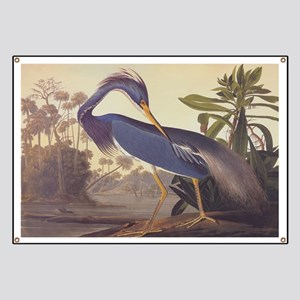 Louisiana Heron Banner