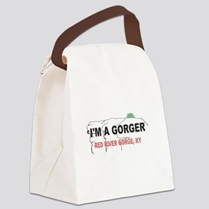 I'm A Gorger Canvas Lunch Bag