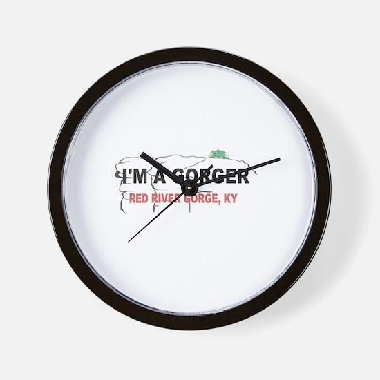 I'm A Gorger Wall Clock