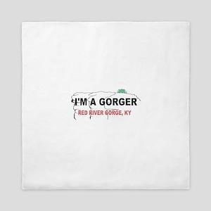 I'm A Gorger Queen Duvet