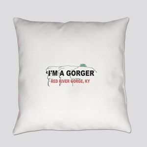 I'm A Gorger Everyday Pillow