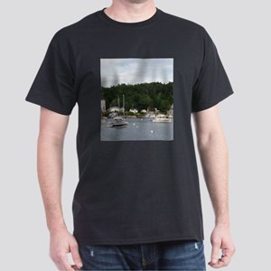 Boothbay Harbor Waterfront Boats T-Shirt