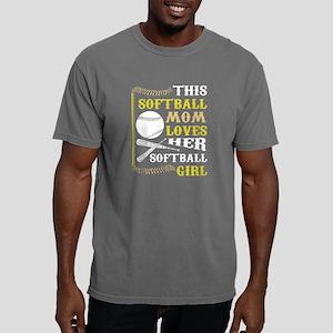 This Softball Mom Loves Her Softball Girl T-Shirt