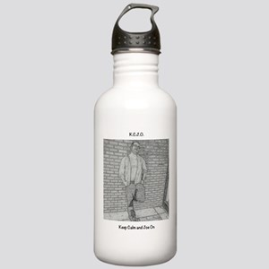 Keep Calm and Joe On Water Bottle