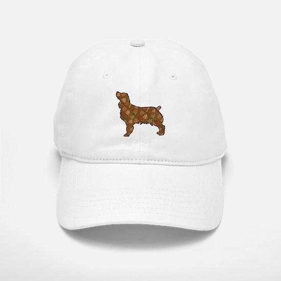 Brown Dog Fall Baseball Baseball Cap