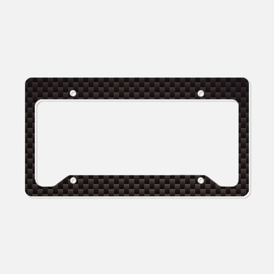 Carbon Fiber License Plate Holder