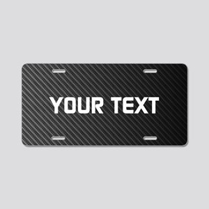 Custom Carbon Fiber Aluminum License Plate