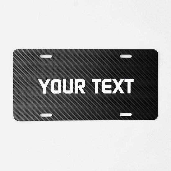 Custom Carbon Fiber Aluminum License Plate