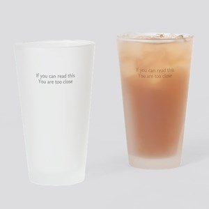Dont Stand So Close To Me Drinking Glass