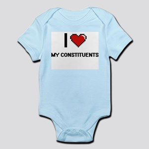 I love My Constituents Body Suit