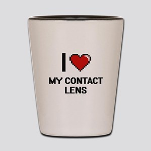 I love My Contact Lens Shot Glass