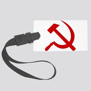 Hammer and Sickle Large Luggage Tag