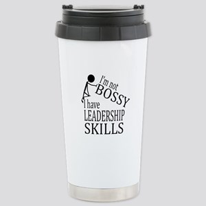 I'm Not Bossy | I Have Stainless Steel Travel Mug