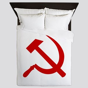 Hammer and Sickle Queen Duvet