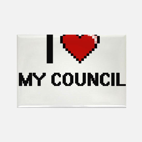 I love My Council Magnets