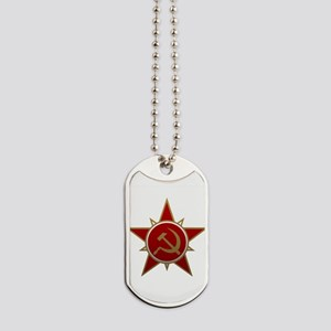 Hammer and Sickle Dog Tags