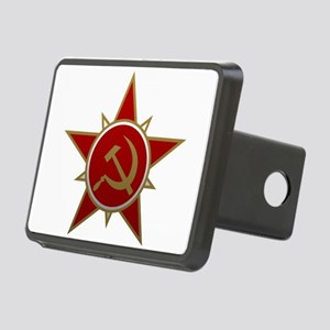 Hammer and Sickle Rectangular Hitch Cover