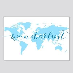 Wanderlust, blue world ma Postcards (Package of 8)