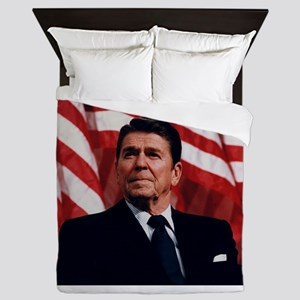 Ronald Reagan Queen Duvet