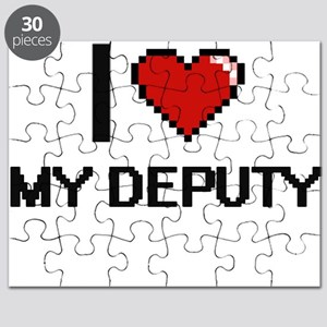 I Love My Deputy Puzzle