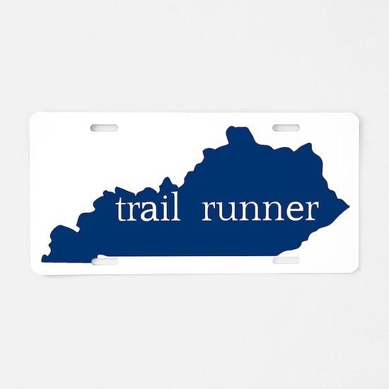 KY Trail Runner Aluminum License Plate