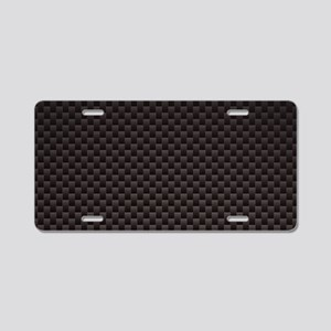 Carbon Fiber Aluminum License Plate