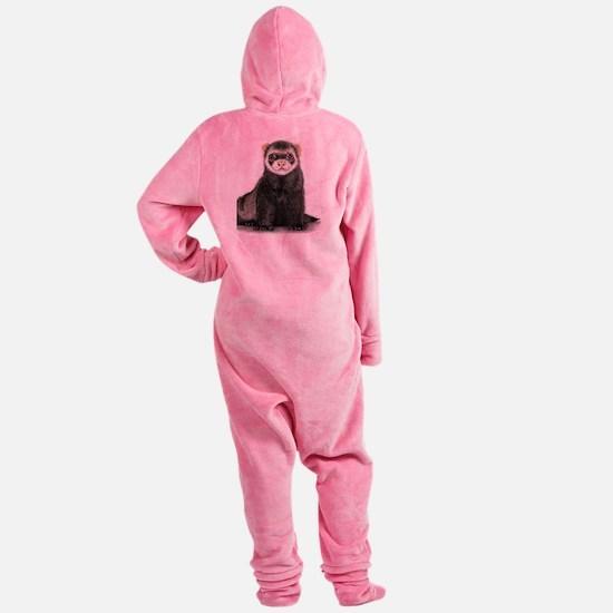 Unique Ferret Footed Pajamas