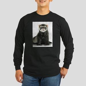 High detail ferret design Long Sleeve T-Shirt
