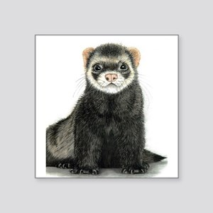 High detail ferret design Sticker