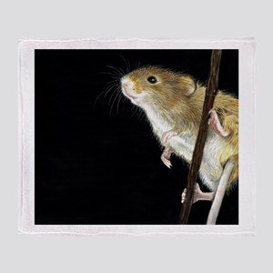 Field Mouse Design Throw Blanket