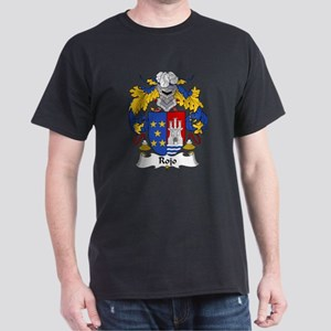 Rojo Family Crest Dark T-Shirt