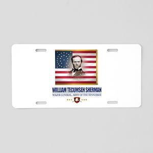 Sherman (C2) Aluminum License Plate