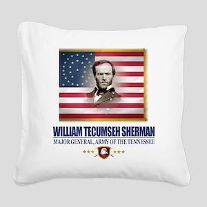 Sherman (C2) Square Canvas Pillow