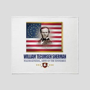 Sherman (C2) Throw Blanket