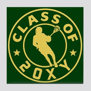 Class of 20?? Lacrosse Tile Coaster