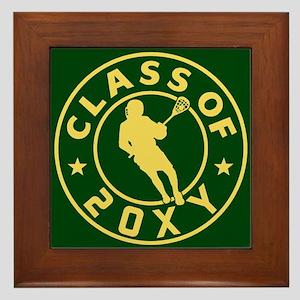 Class of 20?? Lacrosse Framed Tile